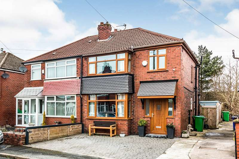 3 Bedrooms Semi Detached House for sale in Armadale Avenue, Manchester, Greater Manchester, M9