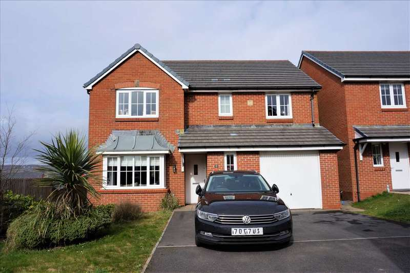 4 Bedrooms Detached House for sale in Heol Waungron, CARWAY, Kidwelly