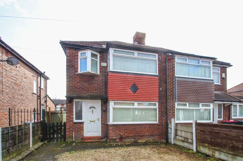 3 Bedrooms Semi Detached House for sale in Wilham Avenue, Eccles, Manchester, M30