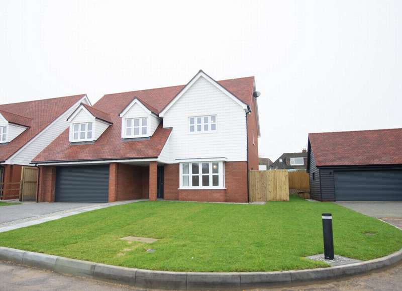 4 Bedrooms Detached House for sale in Wind Mill Close, Hawkinge, CT18