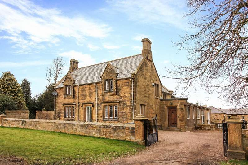 4 Bedrooms Detached House for sale in Longhirst, Morpeth