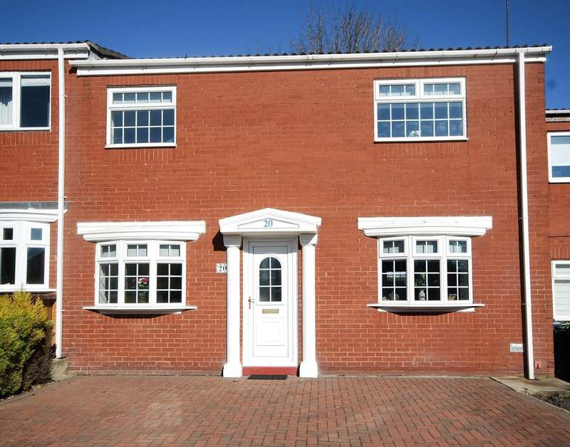 2 Bedrooms Terraced House for sale in Alpine Grove, East Boldon