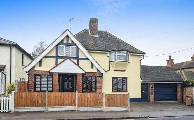 4 Bedrooms Detached House for sale in Stock Road, Galleywood, Chelmsford