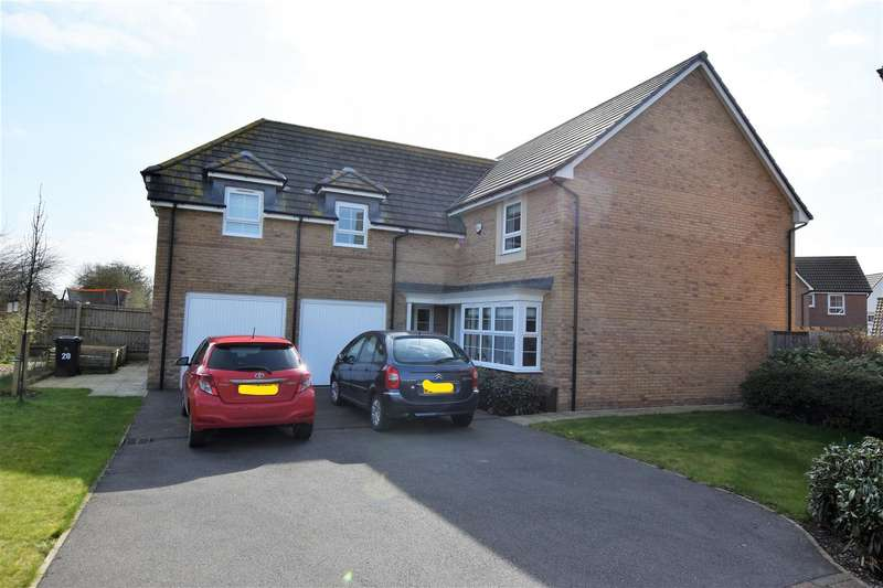 4 Bedrooms Detached House for sale in Falcon Way, East Leake, Loughborough