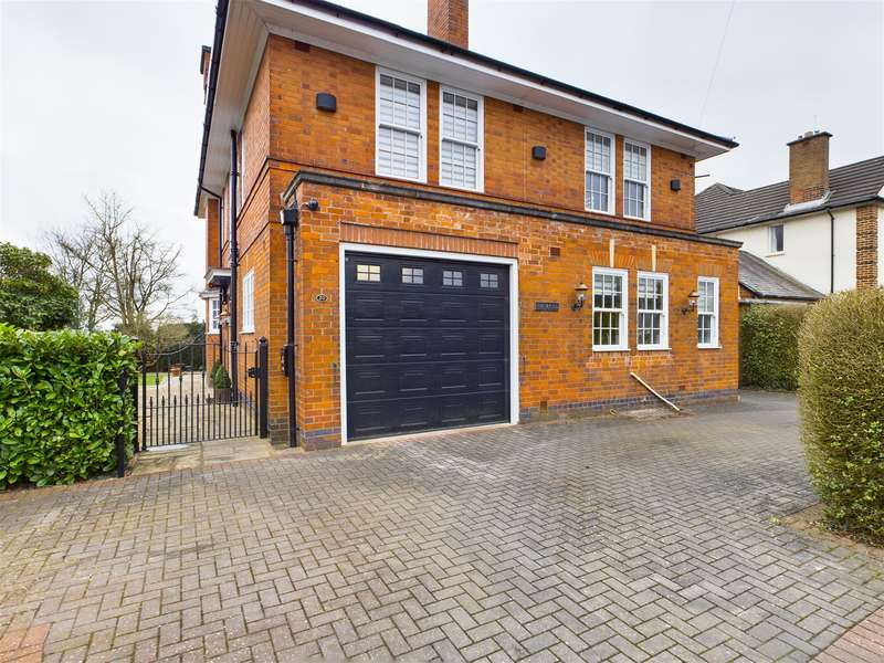 4 Bedrooms Detached House for sale in Springfield Road, Hinckley, LE10 1AN
