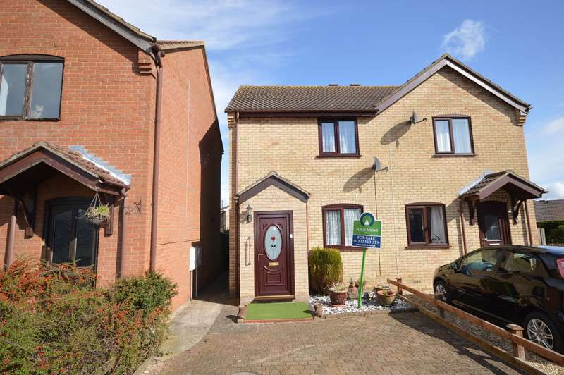 2 Bedrooms Semi Detached House for sale in Ryland Bridge, Welton, Lincoln, LN2