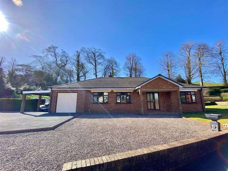 3 Bedrooms Detached Bungalow for sale in Glanarberth, Llechryd, Cardigan, Ceredigion