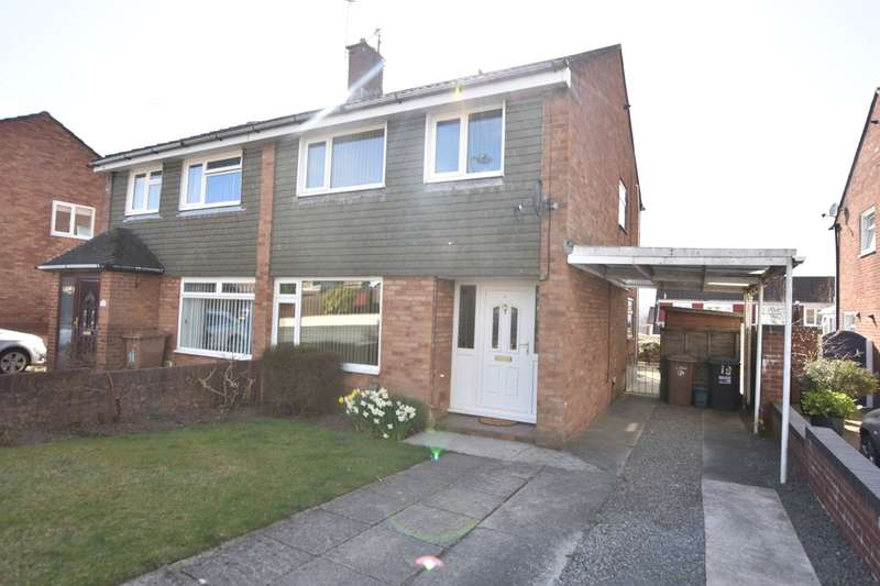 3 Bedrooms Semi Detached House for sale in Maple Close, Pontllanfraith, Blackwood, NP12