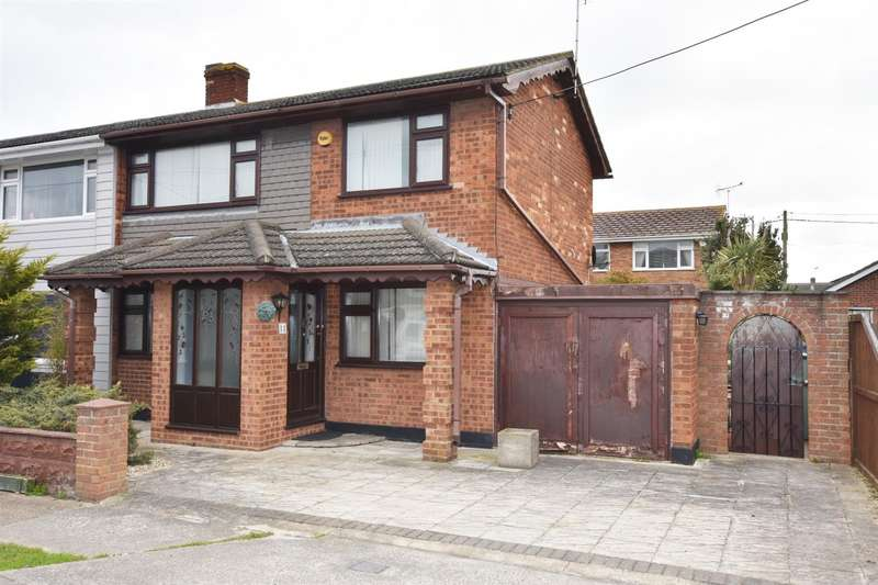 2 Bedrooms Semi Detached House for sale in Margraten Avenue, Canvey Island