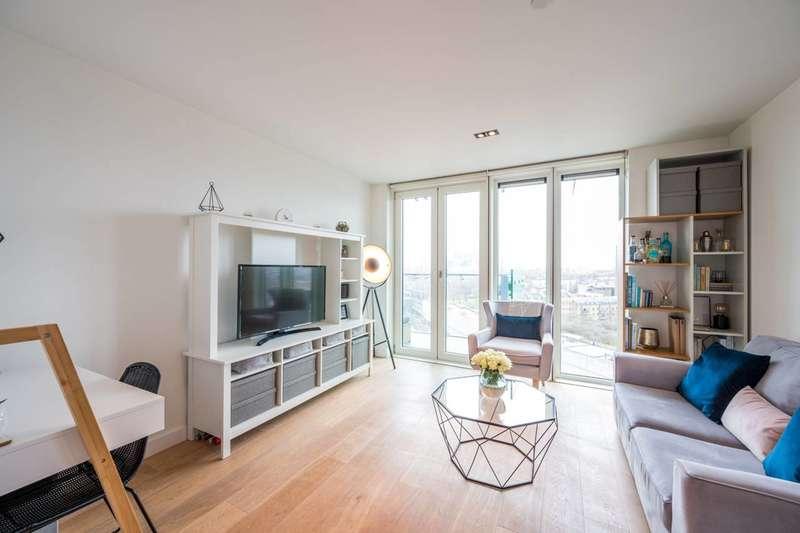 1 Bedroom Flat for sale in Avantgarde Tower, Avantgarde Place, Shoreditch, E1
