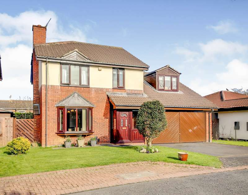 4 Bedrooms Detached House for sale in Well Ridge Close, Whitley Bay, Tyne and Wear, NE25