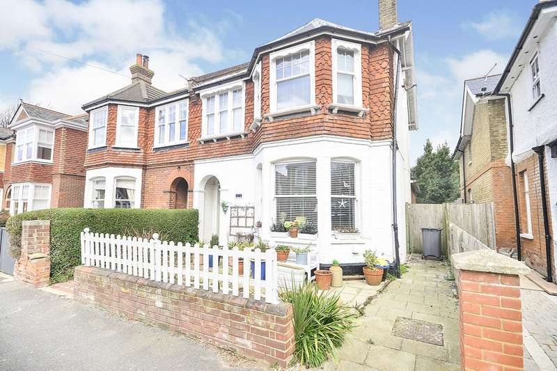 4 Bedrooms Semi Detached House for sale in Grange Road, Deal, Kent, CT14