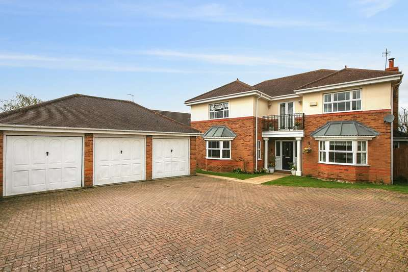 5 Bedrooms Detached House for sale in Sorrel Close, Wootton, Northampton, NN4