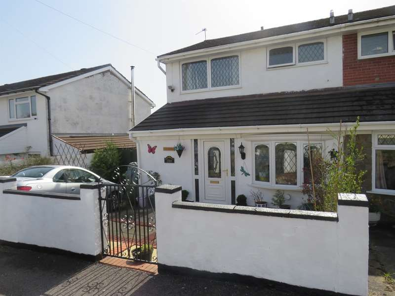 3 Bedrooms Semi Detached House for sale in Conway Crescent, Tonteg, Pontypridd