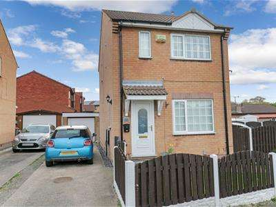 3 Bedrooms Detached House for sale in Celandine Rise, Swinton, Mexborough