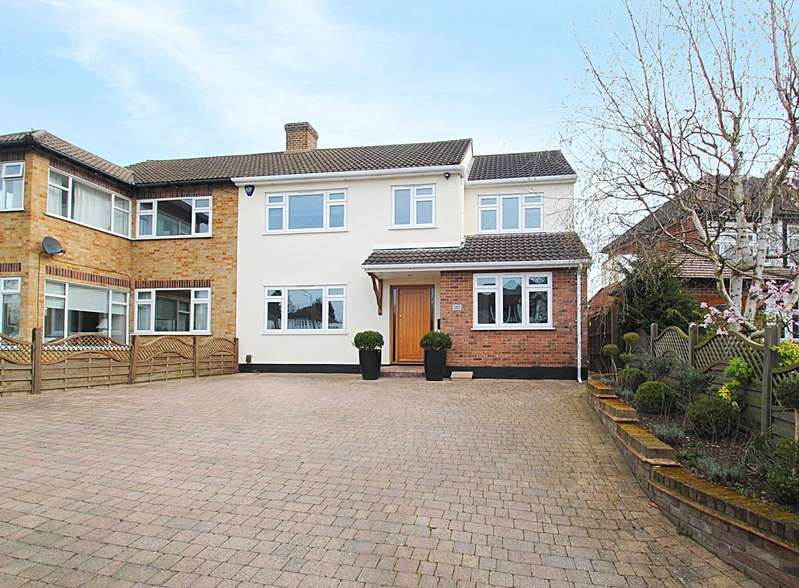 4 Bedrooms Semi Detached House for sale in Corbets Tey Road, Upminster, RM14