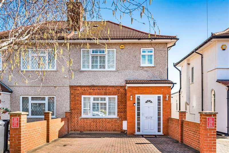 4 Bedrooms Semi Detached House for sale in Grosvenor Avenue, Hayes, UB4 8NN