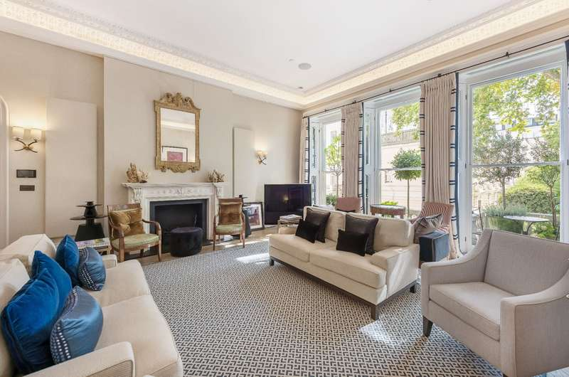 3 Bedrooms Apartment Flat for sale in Cornwall Gardens SW7