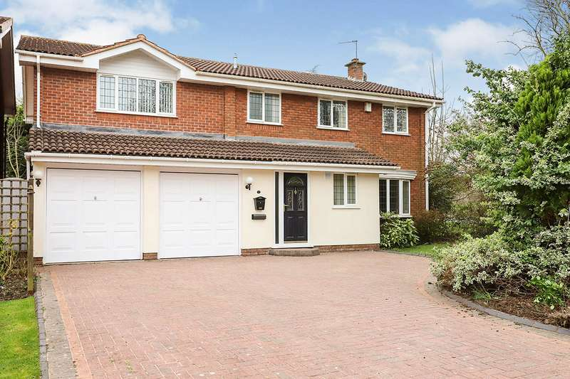 4 Bedrooms Detached House for sale in Collett Road, Perton, Wolverhampton, WV6