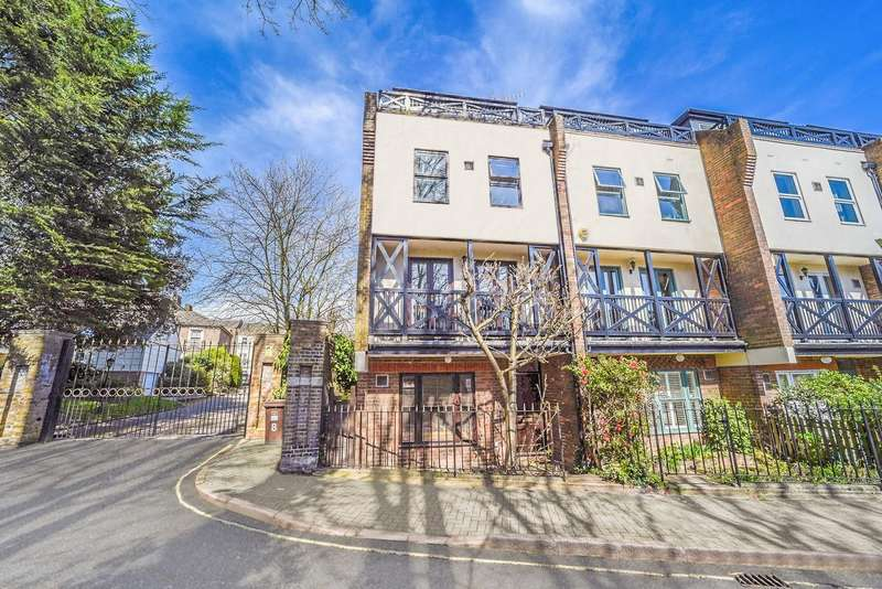 4 Bedrooms End Of Terrace House for sale in Mill Plat, Old Isleworth