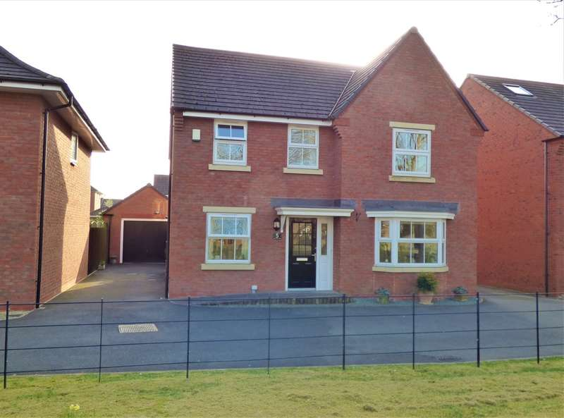 4 Bedrooms Detached House for sale in Mary Slater Road, Lichfield