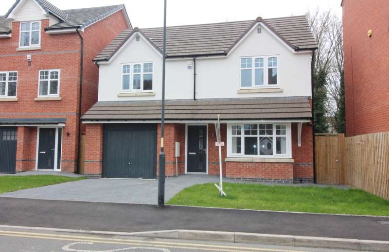 4 Bedrooms Detached House for sale in Harper Street, Willenhall