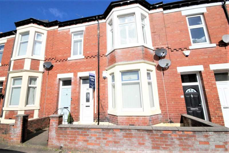2 Bedrooms Flat for rent in Delaval Terrace, Gosforth