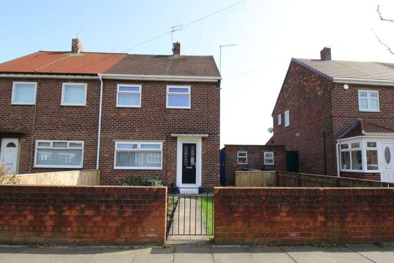 2 Bedrooms Semi Detached House for sale in Toner Avenue, Hebburn, NE31