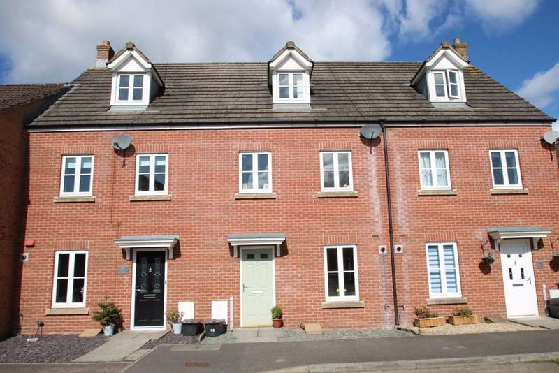 3 Bedrooms Town House for sale in Timor Road, Westbury, Wiltshire, BA13