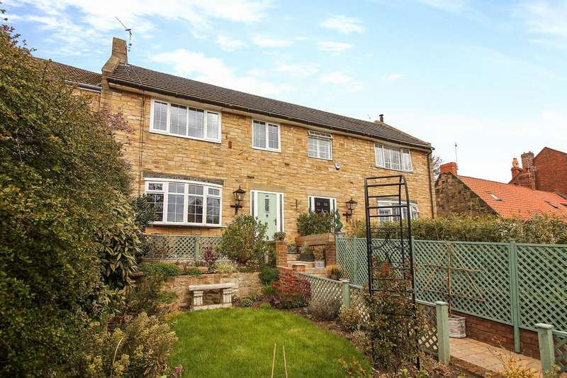 3 Bedrooms Terraced House for sale in Front Street, Earsdon, Whitley Bay