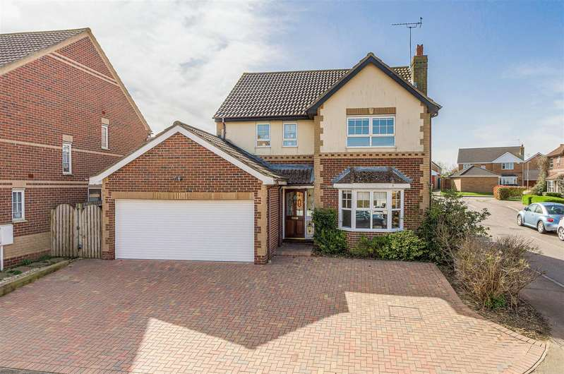 4 Bedrooms House for sale in Stourton Close, Wellingborough