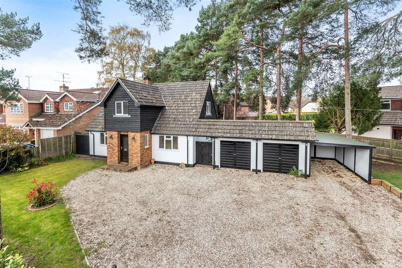 3 Bedrooms Detached House for sale in Gorse Ride North, Finchampstead, Berkshire, RG