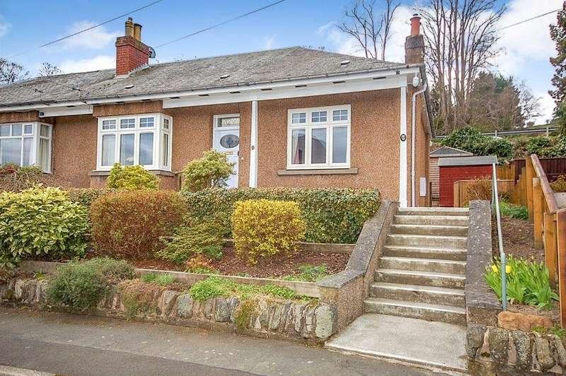 2 Bedrooms Semi Detached Bungalow for sale in Minoru, 10 Tweed Crescent, Galashiels, TD1