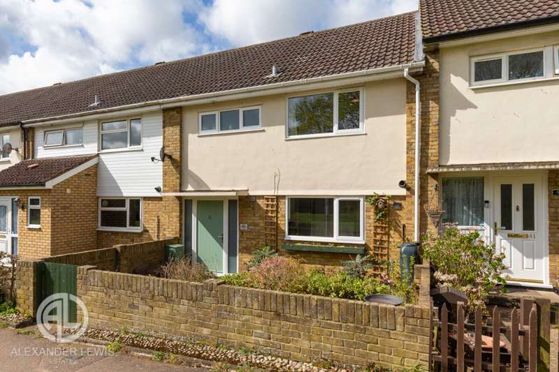 3 Bedrooms Terraced House for sale in Ellice, Letchworth Garden City, SG6 2LN