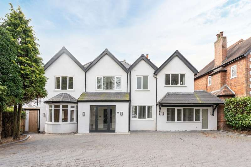5 Bedrooms Detached House for sale in Warwick Road, Solihull