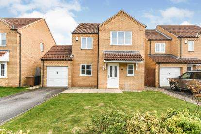 4 Bedrooms Detached House for sale in Temple Goring, Navenby, Lincoln, Lincolnshire