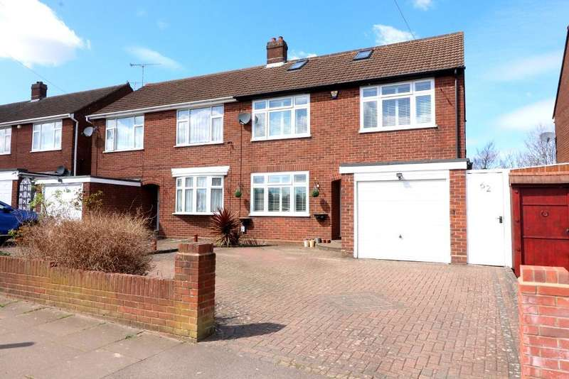 4 Bedrooms Semi Detached House for sale in Stoneygate Road, Luton, Bedfordshire, LU4 9TG