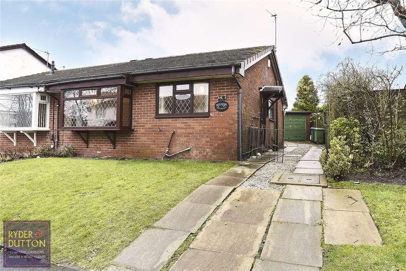 2 Bedrooms Semi Detached Bungalow for sale in Ravenwood, Firwood Park, Chadderton, Oldham, OL9