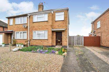 3 Bedrooms Semi Detached House for sale in Bramley Road, Birstall, Leicester, Leicestershire