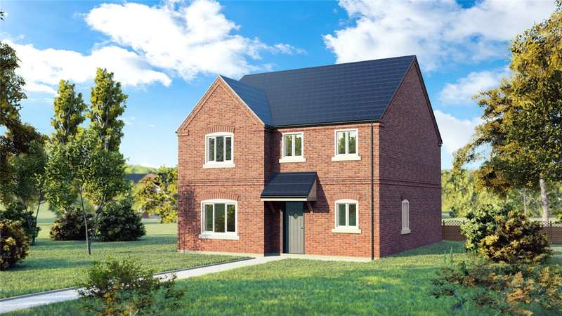 4 Bedrooms Detached House for sale in Plot 15, Grainfields, Digby, Lincoln, LN4