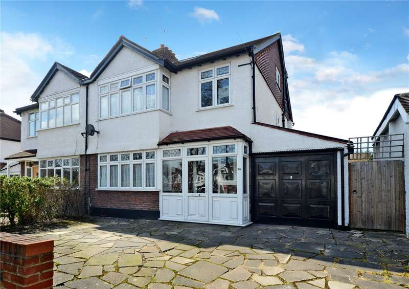 5 Bedrooms Semi Detached House for sale in Lynwood Drive, Worcester Park, KT4