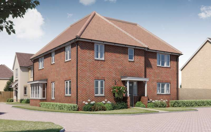4 Bedrooms Detached House for sale in Tavistock Place, Bedford, Bedford, MK45