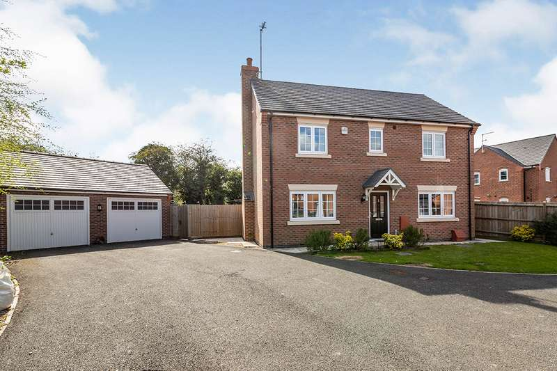 4 Bedrooms Detached House for sale in Rye Hill Drive, Sapcote, Leicester, Leicestershire, LE9