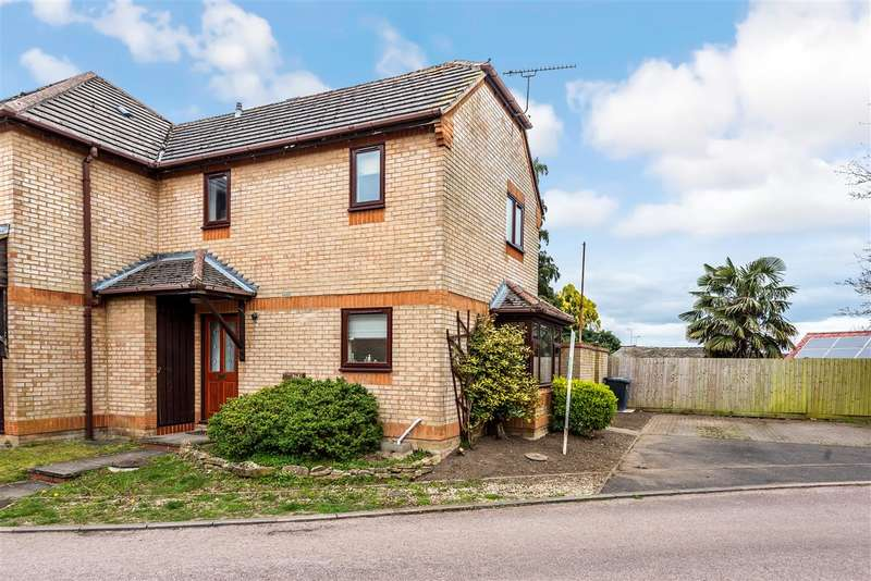 2 Bedrooms Semi Detached House for sale in Yeomans Close, Brackley