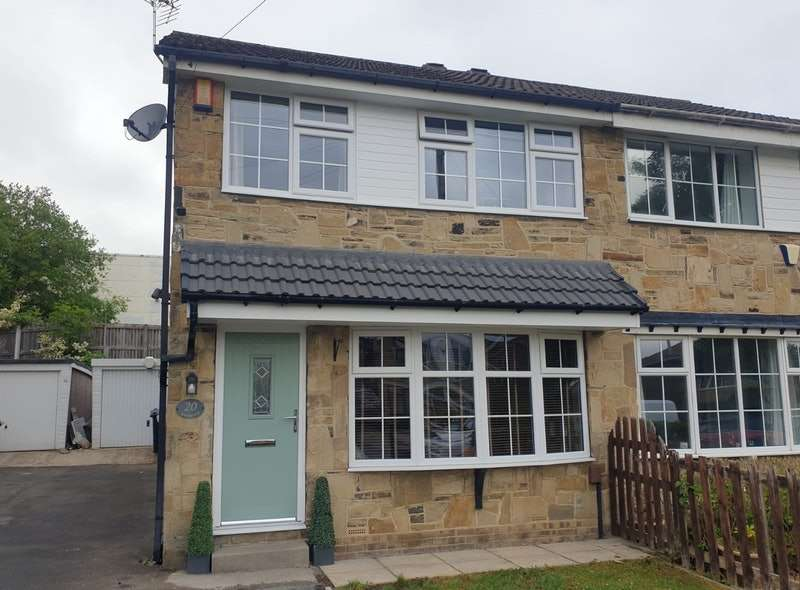 3 Bedrooms Semi Detached House for sale in Sycamore Walk, Pudsey, West Yorkshire, LS28