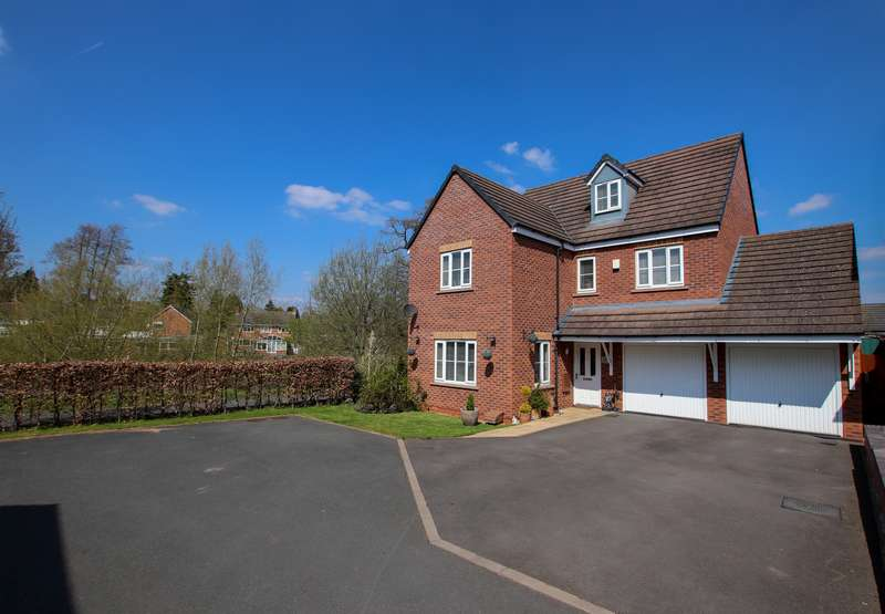 5 Bedrooms Detached House for sale in 59 Stone Drive, Shifnal, TF11 9LX