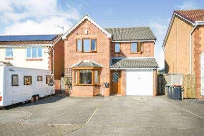 4 Bedrooms Detached House for sale in Elmhurst Drive, Huthwaite, Sutton In Ashfield, Nottingham