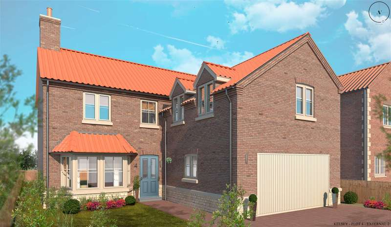 4 Bedrooms Detached House for sale in Church Farm,, South Kelsey, Market Rasen