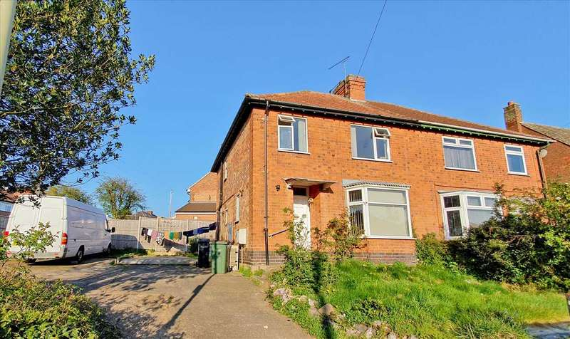 3 Bedrooms Semi Detached House for sale in Queen Street, Oadby