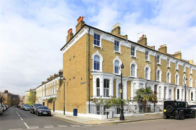 4 Bedrooms End Of Terrace House for sale in Grafton Square, Clapham, London, SW4